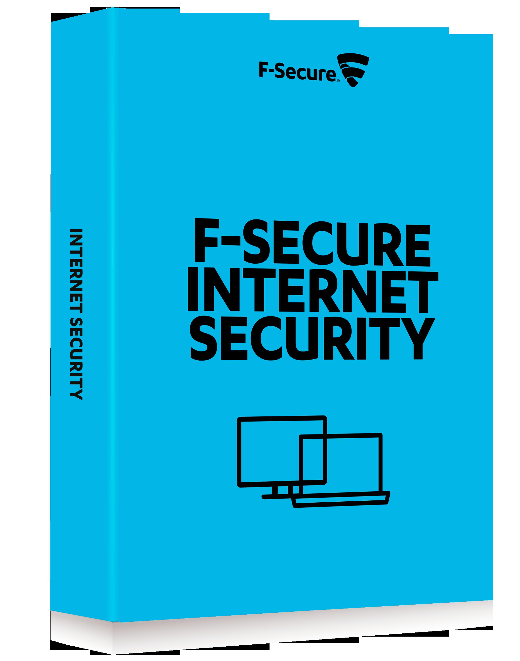F-Secure Internet Security 3PC 1jaar