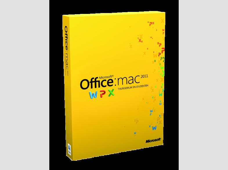 Microsoft Office Mac 2011 Thuisgebruik & Studenten 1Mac