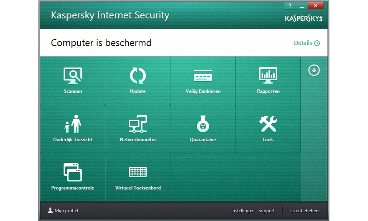 kaspersky internet security multi device 3 devices 1jaar. Black Bedroom Furniture Sets. Home Design Ideas