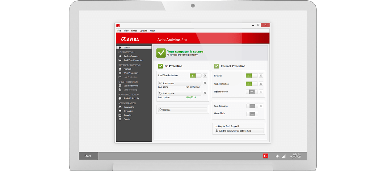 Avira Antivirus Pro 3PC 1year