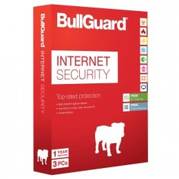 Beveiliging: BullGuard Internet Security 3PC 1jaar