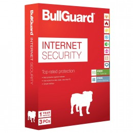 Bullguard Internet Security: BullGuard Internet Security 3PC 1jaar