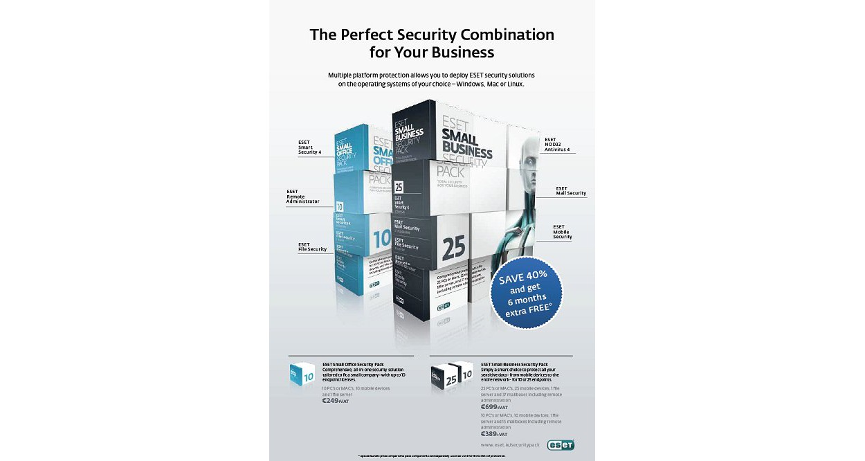 ESET Small Business (2 FS + 25Mailbox + Mobile)