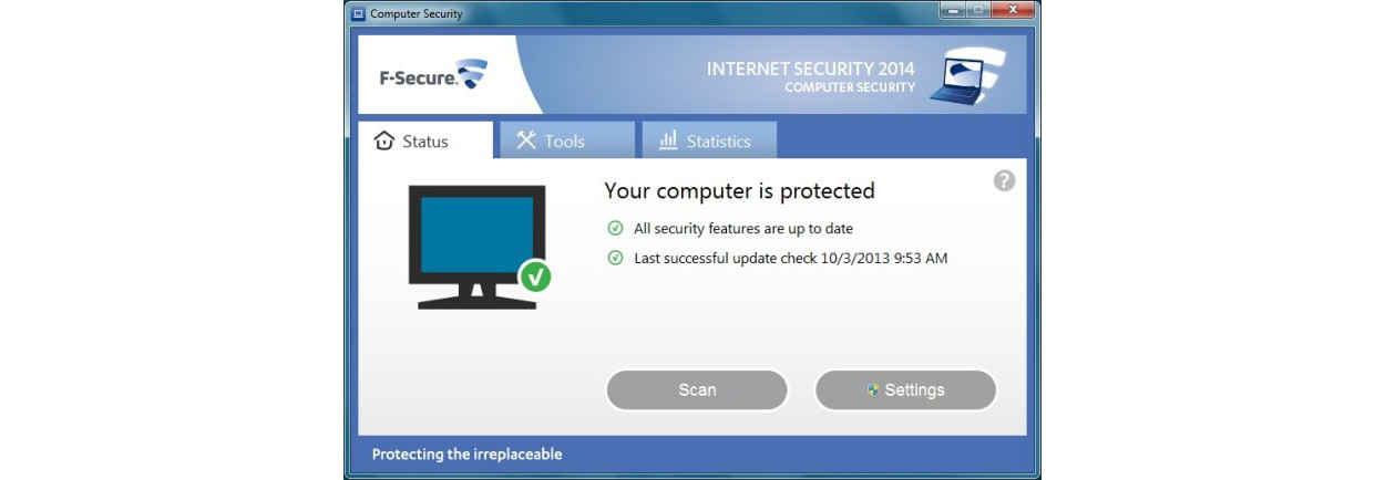 F-Secure Internet Security 3PC 1year