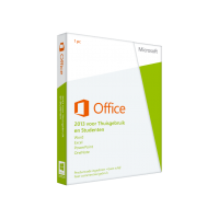 Microsoft Office 2013 Thuisgebruik & Student 1PC