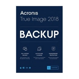 Backup: Acronis True Image 2018 1PC/MAC