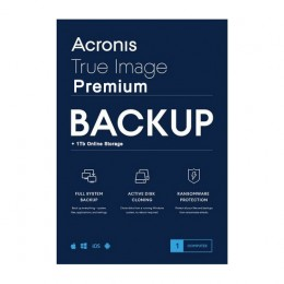 Backup: Acronis True Image Premium 5Apparaten 1Jaar