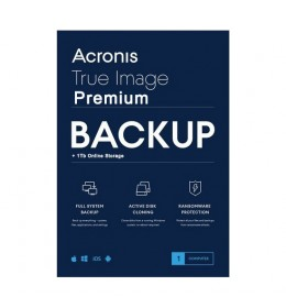 Acronis True Image Premium 5Apparaten 1Jaar
