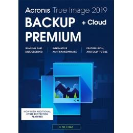 Acronis True Image Premium 3Apparaten 1Jaar