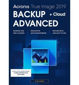 Acronis True Image Advanced 5Apparaten 1Jaar