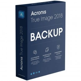 Backup: Acronis True Image 2018 3PC/MAC (2019-upgrade)