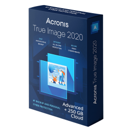 Cloud Backup: Acronis True Image Advanced 2020 3Device 1Year