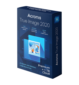 Acronis True Image Premium 2020 5Apparaten 1Jaar