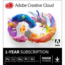Multimedia: Adobe Photography Plan Creative Cloud 1 Gebruiker 1Jaar 1TB cloudopslag