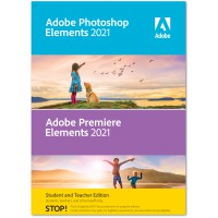 Photo editing: Adobe Photoshop + Premiere Elements 2021 | Windows | Multilanguage | Student & Teacher edition