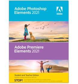 Adobe Photoshop + Premiere Elements 2021 | Windows | Multilanguage | Student & Teacher edition