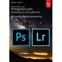 Adobe Photography Plan CC 1 Gebruiker 1Jaar + 1TB cloud