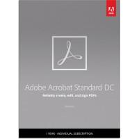 PDF processing(and OCR): Adobe Acrobat Standard DC Multi-Language 1User 1Year