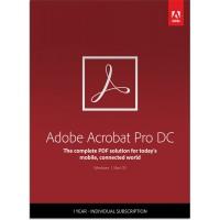PDF processing(and OCR): Adobe Acrobat Professional DC Multi-Language 1User 1Year