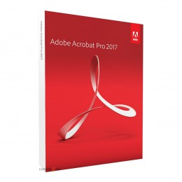 PDF processing(and OCR): Adobe Acrobat PRO DC 2017 - Dutch - Windows