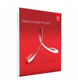Adobe Acrobat Pro 2017 - English - Windows