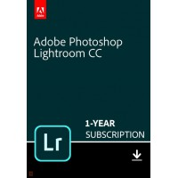 Multimedia: Adobe Lightroom Creative Cloud Multi-Language 1 Gebruiker 1Jaar 1TB cloudopslag