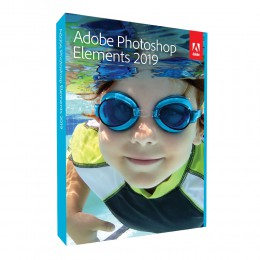 Multimedia: Adobe Photoshop Elements 2019 - Engels - Windows