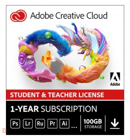 Adobe Photography Plan Creative Cloud 1 Gebruiker 1Jaar 1TB cloudopslag