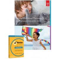Multimedia: Adobe Photoshop Elements + Premiere Elements 2020 | Nederlands | Windows| (+ gratis Antivirus)