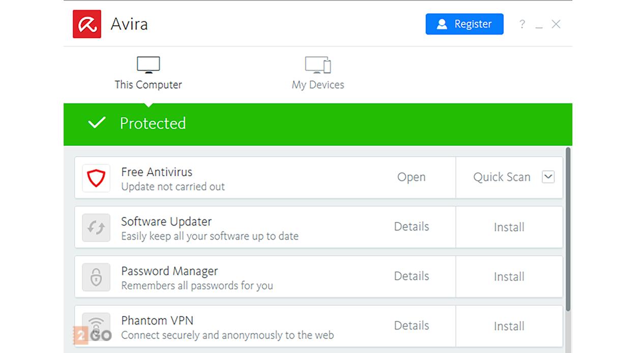 Avira Antivirus Pro 3PC 1year
