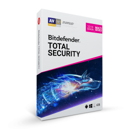 Bitdefender Total Security 2019 | 3Apparaten - 1jaar | Windows - Mac - Android - iOS