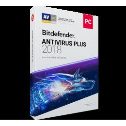 Bitdefender Antivirus Plus 1PC 1jaar