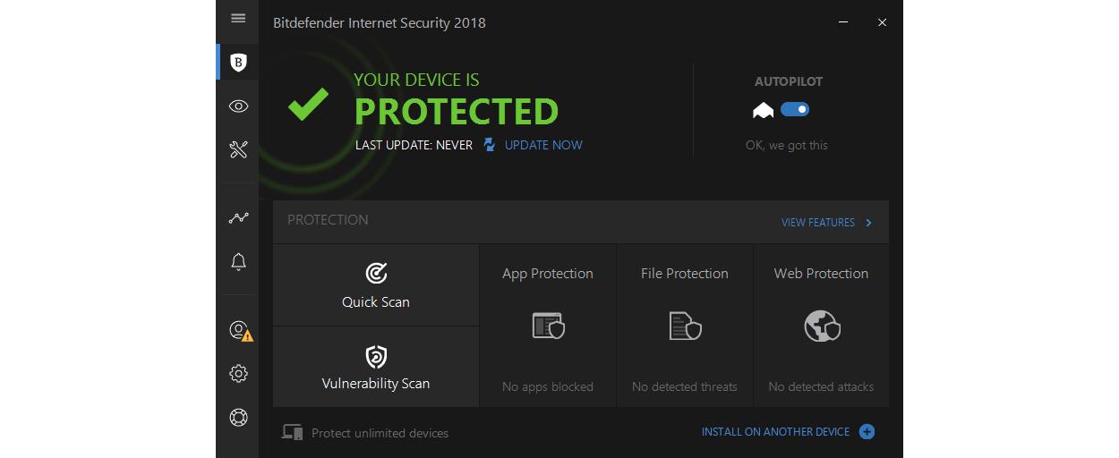 Bitdefender Internet Security 1PC 1jaar