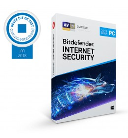Bitdefender Internet Security 2019 3PC 1jaar