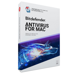Security: Bitdefender Antivirus for 1MAC 1Year