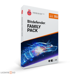 Bitdefender Family Pack 2019 1jaar Unlimited-Devices