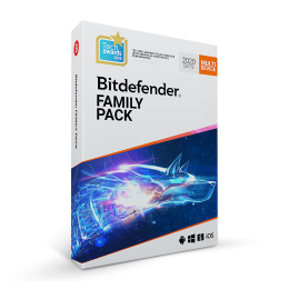 Beveiliging: Bitdefender Family Pack 2020 | Unlimited Devices | 1jaar | Windows, Mac, Android, iOS
