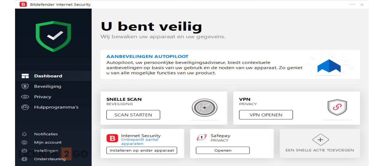 Bitdefender Internet Security 2020 | 1PC - 1jaar | Windows