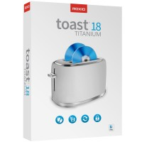 Video editing: Corel Roxio Toast 18 Titanium - 1 MAC - Multi Language