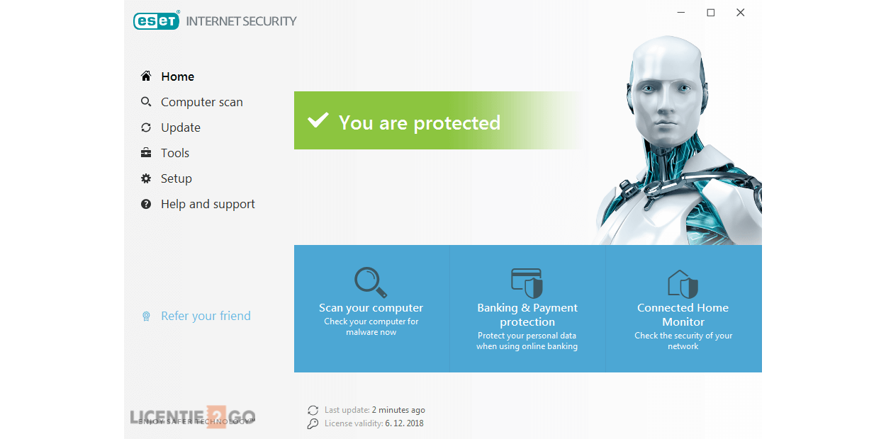 ESET Internet Security 1PC 1Year
