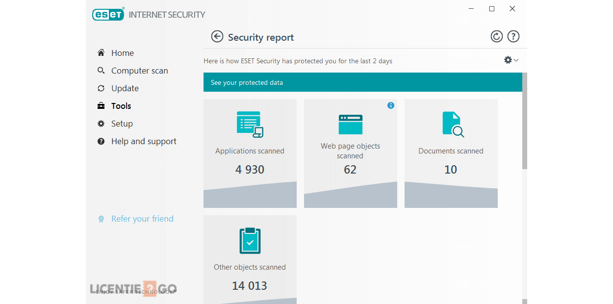 ESET Internet Security 1Apparaat 1Jaar 2019 - Windows | Mac | Android