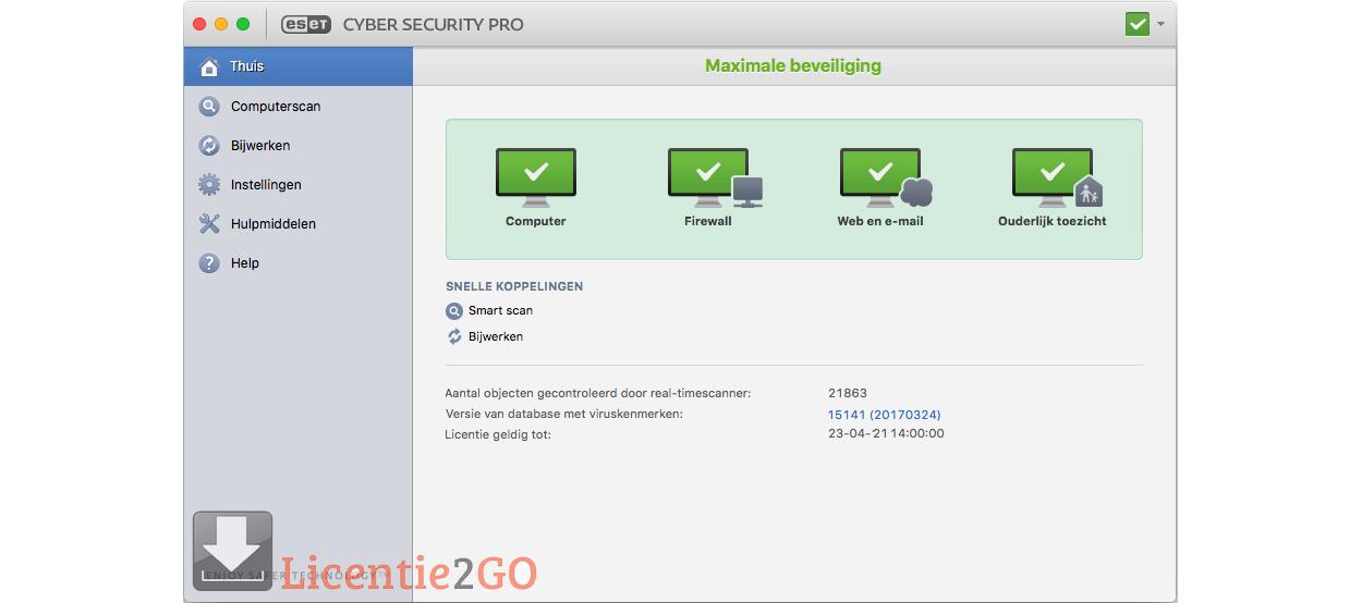 ESET Cyber Security PRO 1MAC 1Year
