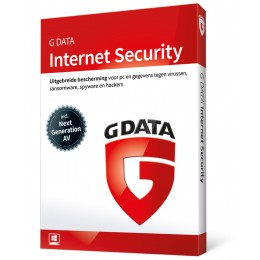 Beveiliging: G Data Internet Security 1PC 1jaar