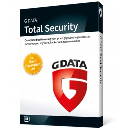 Totaalbeveiliging: G Data Total Security 3PC 1jaar