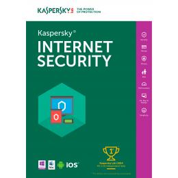 Kaspersky Internet Security 3PC 1jaar