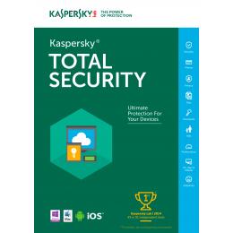 Kaspersky Total Security Multi-Device 3-Devices 1jaar