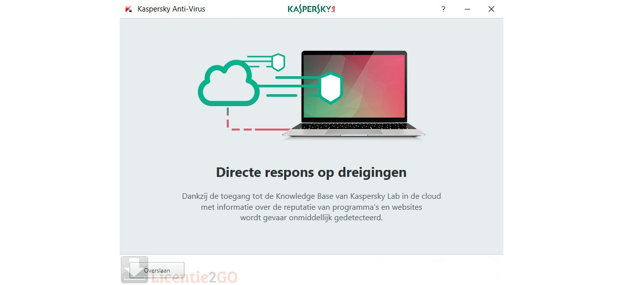Kaspersky Anti-Virus 5PC 1jaar