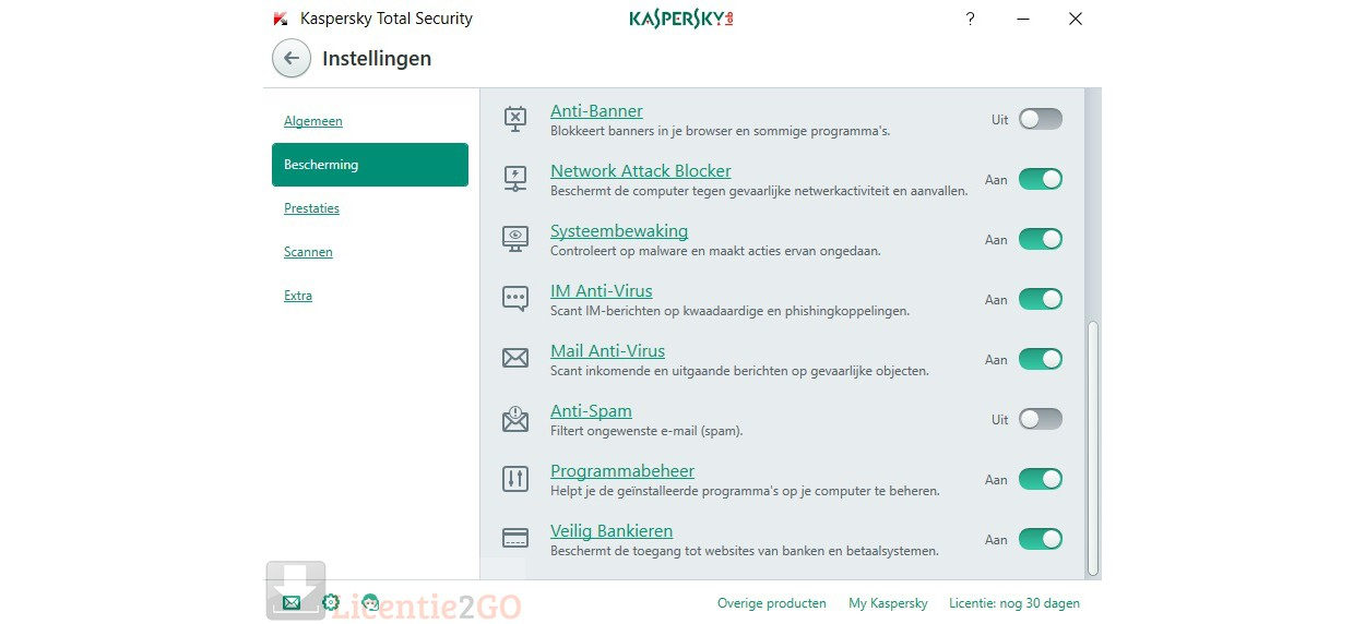 Kaspersky Total Security 2020 1Device 1year
