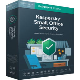 Zakelijk IT Beveiliging: Kaspersky Small Office Security 10PC+10Smartphones+1FS 1jaar
