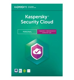 Kaspersky Security Cloud Personal - 5Apparaten 1Jaar